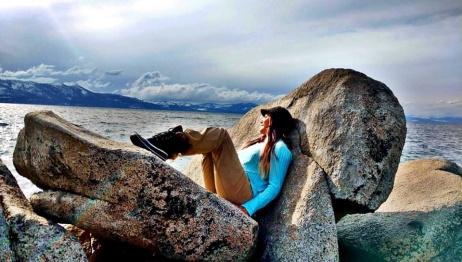 lake tahoe reflections