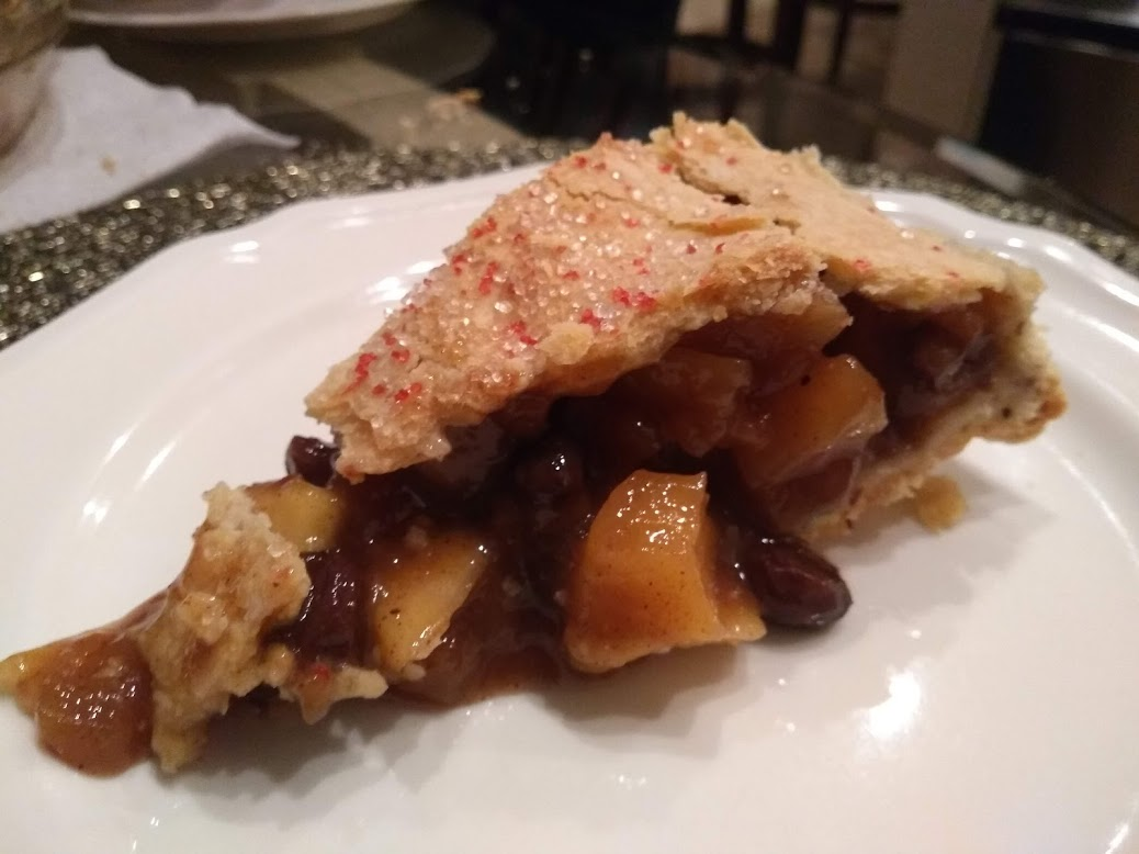 vegan mincemeat pie