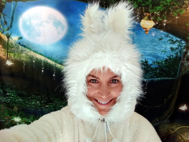 white rabbit faery
