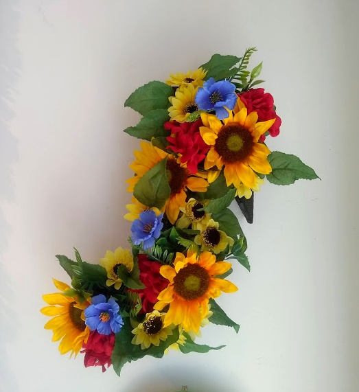 musical note flowers